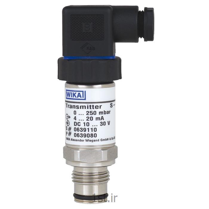 عکس نمایشگر فشار (مانیتور فشار)پرشر ترانسمیتر ویکا مدل S-11 فشار 1- تا 1+ بار  G 1/2 B