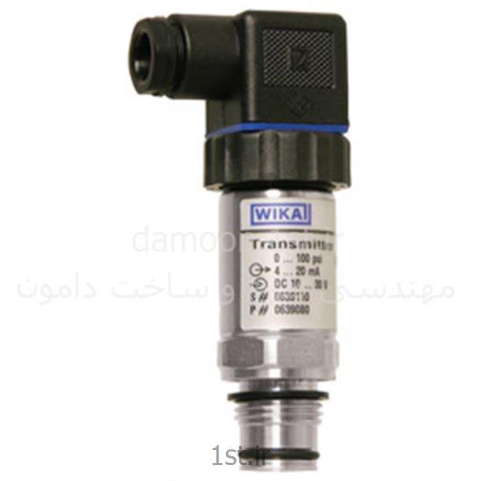عکس نمایشگر فشار (مانیتور فشار)پرشر ترانسمیتر ویکا مدل S-11 فشار 0 تا 6 بار G 1/2 B
