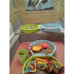 ماسه و شن بهداشتی بازی کودکان