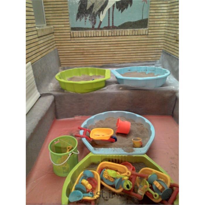 ماسه و شن بهداشتی بازی کودکان<