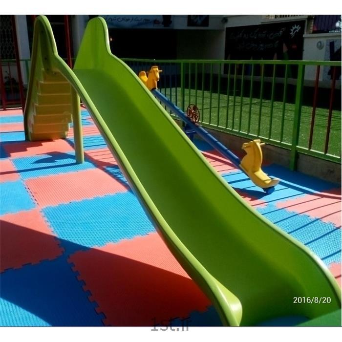 عکس سرسره و سایر اسباب بازی های بادیسرسره استاندارد مهد کودک