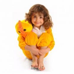 عکس لباس نمایشتن پوش کودک مدل پلنگ صورتی