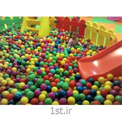 توپ تک رنگ استخرتوپ رنگ های مختلف و براق