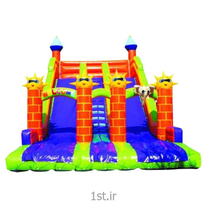 سرسره بادی خورشیدی 6 قلعه