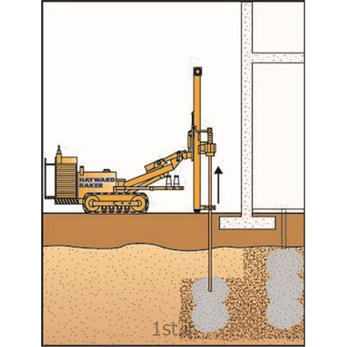 بهسازی خاک ، روش تزریق تراکمی (Compaction Grouting)