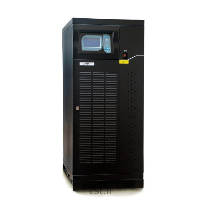 عکس یو پی اس ( منبع تغذیه بدون وقفه )یو پی اس آنلاین 10KVA باتری خارجی