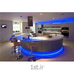 کابینت آشپزخانه ام دی اف (MDF) صفحه کورین