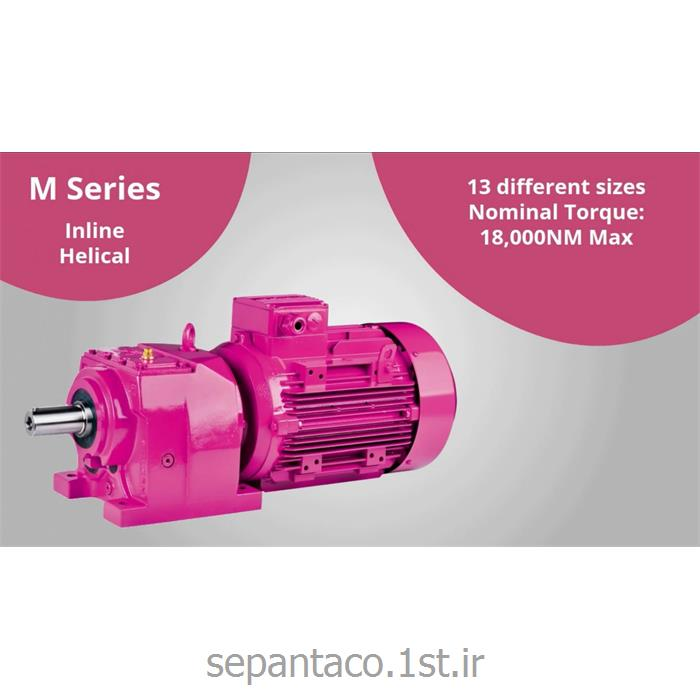 الکتروگیربکس 4  کیلو وات 103 دور پایه دار