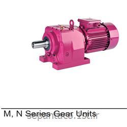 الکتروگیربکس 15 کیلو وات 101 دور پایه دار