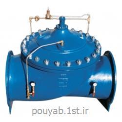 عکس شیر فلکهشیر اطمینان یا نگهدارنده فشار پایلوت دار و دیافراگمی کنترل اتواتیک میراب