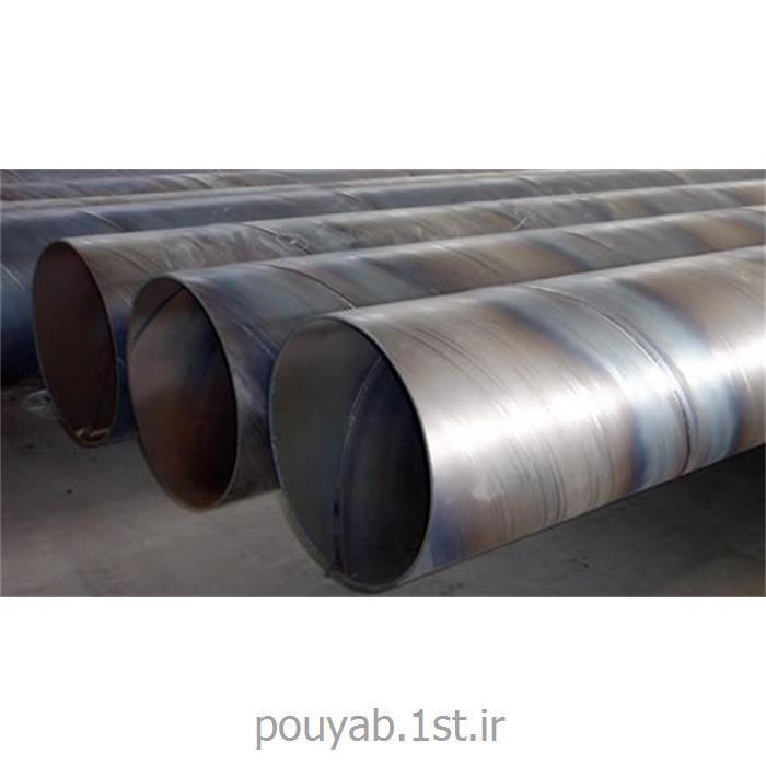عکس لوله فولادیلوله فولادی جوشی درز دار به روش اسپیرال