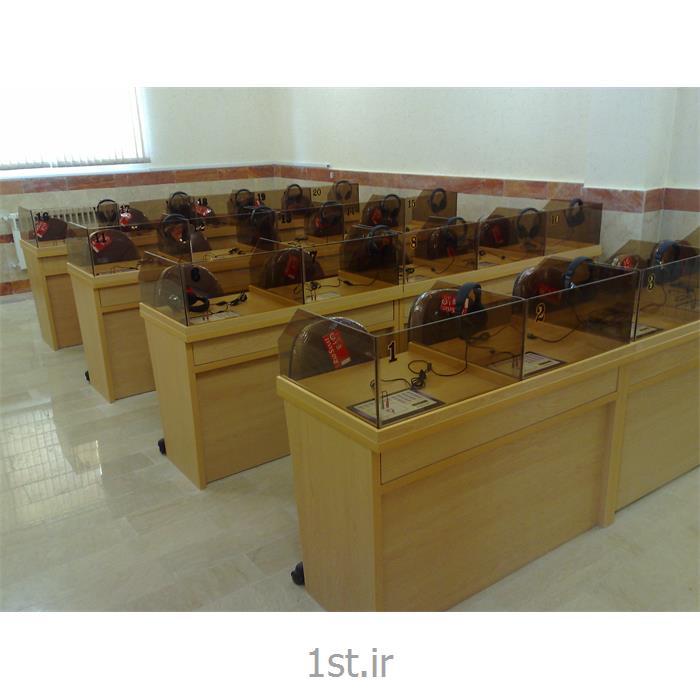 عکس تجهیزات آموزشیلابراتوار زبان - adak 2500