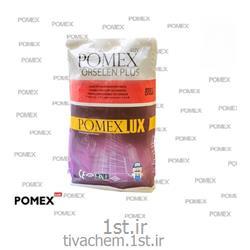 چسب کاشی پودری صنعتی پومکس پرسلان پلاس