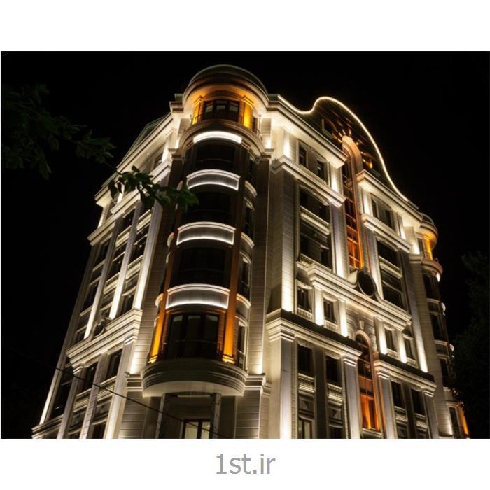 عکس لامپ آر جی بی (RGB)نورپردازی انواع نمای مجتمع و برج