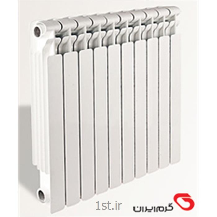 عکس رادیاتور، سیستم گرمایش از کف و قطعاترادیاتور پره ای تمام دایکاست مدل الگانس Elegance