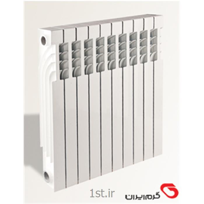 عکس رادیاتور، سیستم گرمایش از کف و قطعاترادیاتور پره ای تمام دایکاست مدل ترمو کالر Termo calor