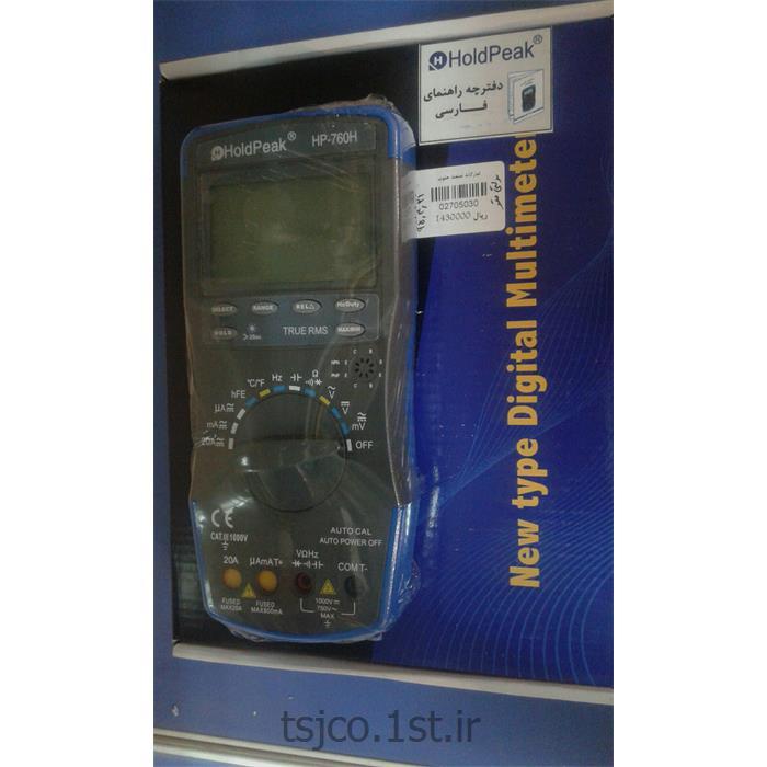 عکس سایر تجهیزات اندازه گیری الکترونیکیمولتی متر هلدپک مدل HoldPeak HP-760H