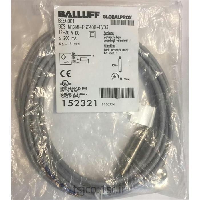 سنسور بالوف BALLUFF مدل BES M12MI-PSC40B-BV03