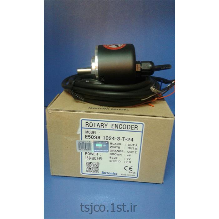 عکس سایر ابزار آلات اندازه گیری و سنجشروتاری اینکودر آتونیکس مدل AUTONICS E50S8-1024-3-T-24