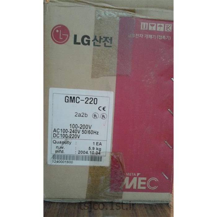 عکس تجهیزات توزیع برقکنتاکتور 220v آمپرLG GMC- 220
