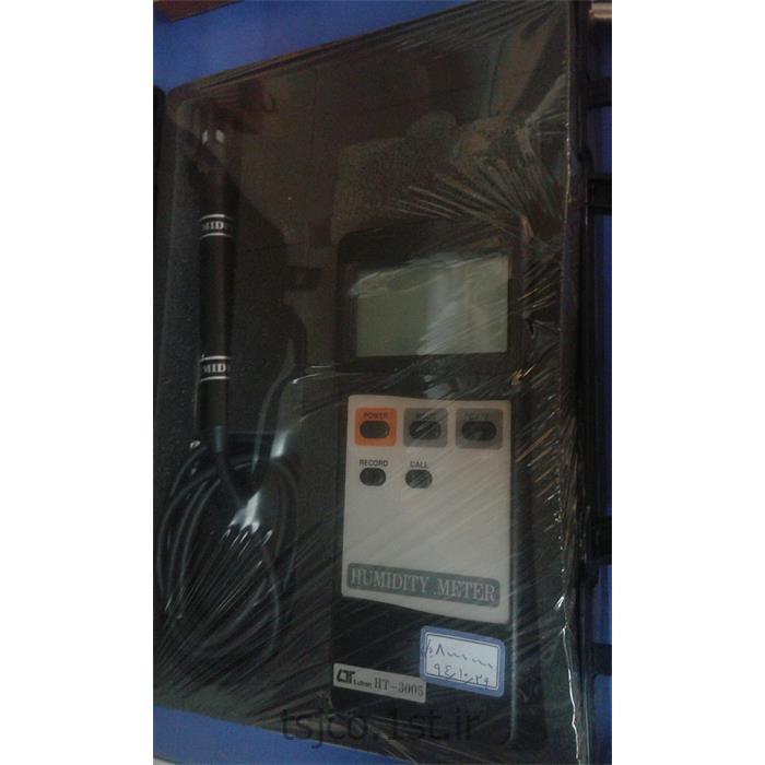 عکس سایر تجهیزات اندازه گیری الکترونیکیرطوبت و دما سنج لوترون مدل LUTRON HT-3005