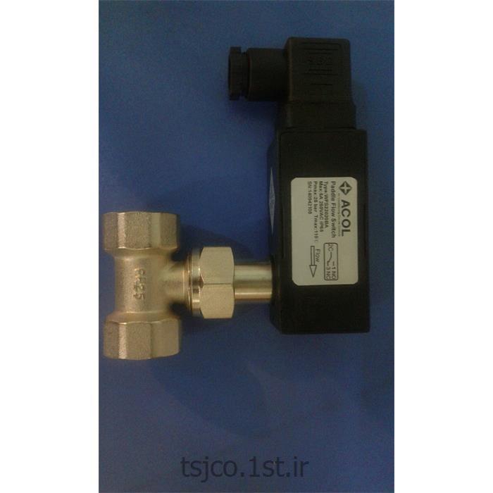 عکس اندازه گیر جریان (فلو متر)فلوسوئیچ خطی 3/4 اینچ ACOL مدل WFS322020BA