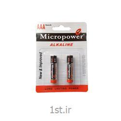 عکس سایر باتری ها (باطری ها)باطری نیم قلمی آلکالاین 2 عددی میکرو پاور