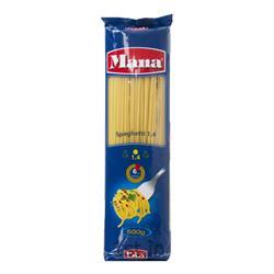 اسپاگتی 1.4 رشته ای 500 گرمی مانا