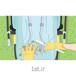 خشکشویی پارچه کالسکه بچه