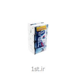 عکس دستمال کاغذیدستمال کاغذی سافت پک تنو ۲۵۰ برگ 8 عددی