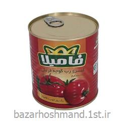عکس گوجه فرنگیرب گوجه فرنگی اسان بازشو 400 گرمی فامیلا