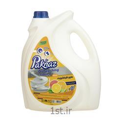 مایع ظرفشویی پاکناز مدل Lemon مقدار 3.75 کیلوگرم