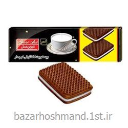 بیسکویت کرمدار کاکائویی 120 گرمی شیرین عسل