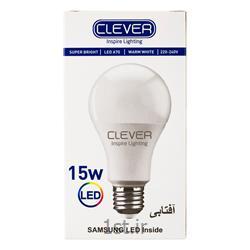 لامپ ال ای دی حبابی افتابی 15 وات کلور