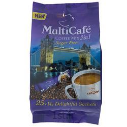 عکس نوشیدنی های قهوهکافی میکس 1*2 بدون شکر 14 گرمی 25 عدد مولتی کافه
