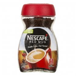 عکس نوشیدنی های قهوهقهوه فوری نسکافه رد ماگ 50 گرمی نستله