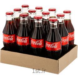 عکس نوشابه های گازدارنوشابه کوکاکولا 250 سی سی شیشه ای(پک 12 عددی)
