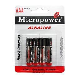 عکس سایر باتری ها (باطری ها)باتری الکاین قلمی شیرینک 2 عدد میکروپاور