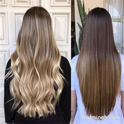 رنگ مو   ( مواد با آرایشگر)