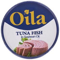 کنسرو ماهی تن در روغن سویا 120 گرمی اویلا