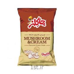 عکس سایر غذاها و نوشیدنی هاچیپس قارچ و خامه 45 گرمی چاکلز
