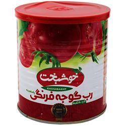 عکس کنسرو سبزیجاترب گوجه فرنگی خوشبخت مقدار 800 گرم