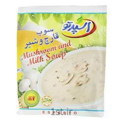 عکس سوپ آمادهسوپ قارچ و شیر 70 گرمی اسپرتو