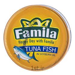 کنسرو ماهی تن در روغن سویا 120 گرمی فامیلا