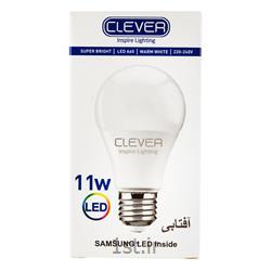 لامپ ال ای دی حبابی افتابی 11 وات کلور