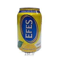 عکس نوشابه های گازدارماءالشعیر لیمو 330 سی سی قوطی EFES