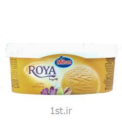 بستنی یک لیتری رویا زعفرانی میهن