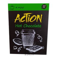 عکس شکلاتشکلات داغ جعبه ای 10 عددی اکشن