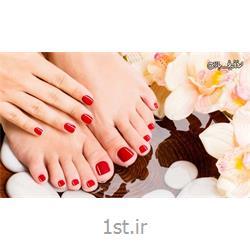 عکس آرایشگاه زنانهژلیش دست یا پا