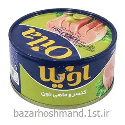 کنسرو ماهی سبزیجات 180 گرمی اویلا